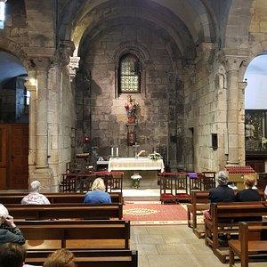Parroquia de Nuestra Señora la Antigua de Corticela, Interiör