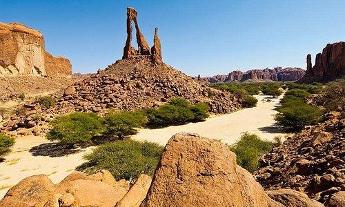 Montagne 🏔 de l'Ennedi du Tchad 🇹🇩
