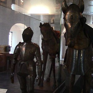 Opgezette paarden van Aelbrecht en Isabella