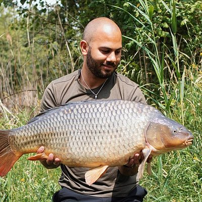 Carp caught here at Gabriels