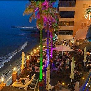 Malibu beach bar Benalmádena