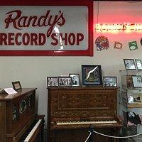 Randy's Record Shop artifacts