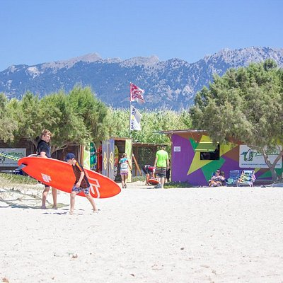 Marmari Windsurfing Center - Family friendly Windsurf center in Kos Greece