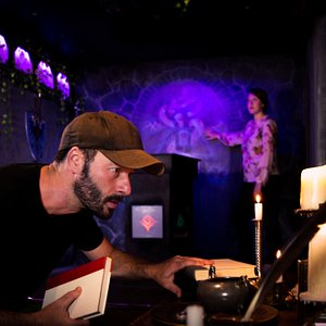 The Magician's Study Escape Room. A peak inside- what's the secret of the long-lost magician?