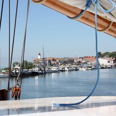 The old fishermans town of Urk