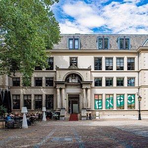 De ingang van Het Utrechts Archief expo locatie
