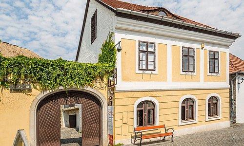 Az Ámos Imre – Anna Margit művészházaspár életművét bemutató múzeum 1984-ben nyitotta meg kapuit egy 18. századi belvárosi műemlék polgárházban.