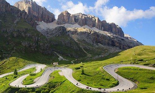 Tour dei passi Dolomitici