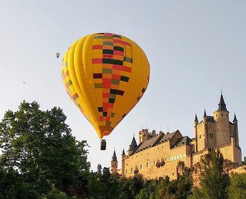 Great views of the Alcázar in Segovia