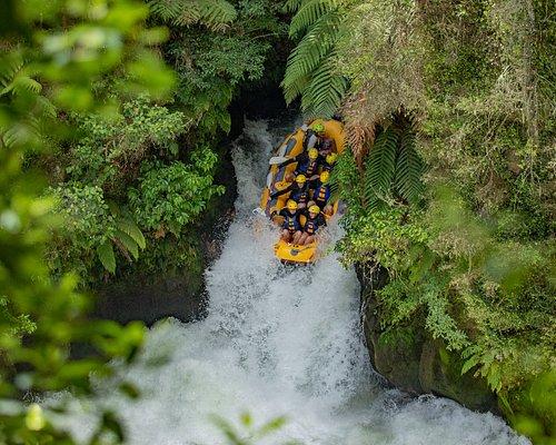 Tutea Falls - 7m, Kaituna river, Okere Falls