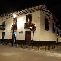 Entrada de Museográfico Gilberto Tenório Cruz, es un museo pequeño, no se permite tomar fotos en los interiores.