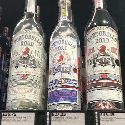Portobello Road gins