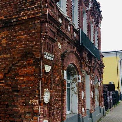 Медынь, улица Кирова 34, здание бывшей типографии