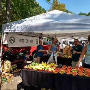 Fresh Produce on sale at the Peachtree City Farmers Market