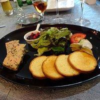 Foie gras aux épices