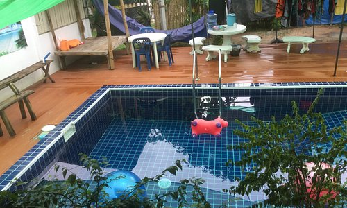 Our relaxing pool