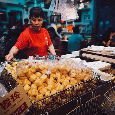Explore the street vendors of old Hong Kong