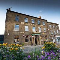 The new name for the Swan Hotel aka the Swan Inn  Now - The Crooked Swan
