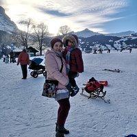 Winter in Grindelwald, Swiss