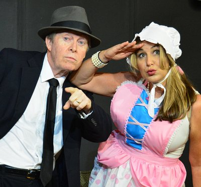 Kevin Kenneally and Jodee Bennett in Four One-Act Comedies @ The Marco Players