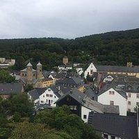 Aussicht auf Bad Münstereifel von der Assichtsplattform