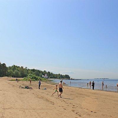 Дубковский пляж.