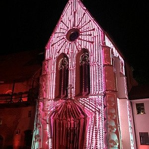 Intro Festival 2019 - animation on the chapel