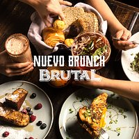 BRUNCH, SÁBADOS Y DOMINGOS DE 9:30 AM - 2:30 P.M