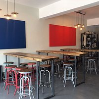 Seating and Bottleshop area