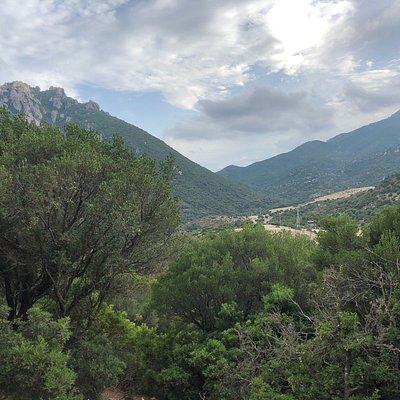 Foto scattate dal sentiero