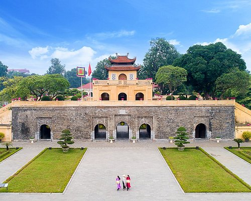 The front of Doan Mon - or The Main Gate