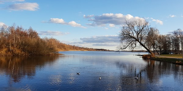 Il lago Salen
