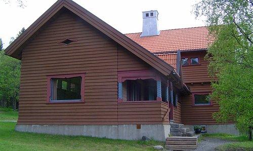 Sommarhagen, Wilhelm Pettersson-Bergers bostad på Frösön