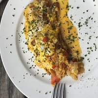Eierspeis zum Frühstück