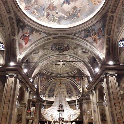 Interno chiesa parrocchiale S.Antonino Martire