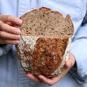 5 grain levain ($7/loaf)