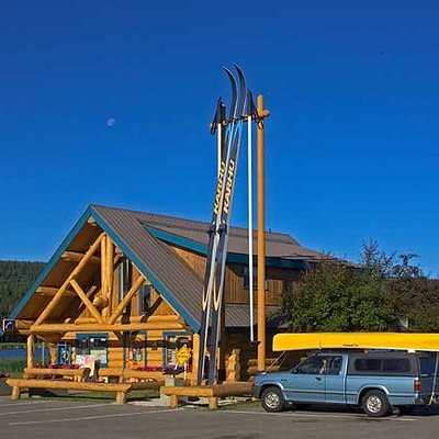 South Cariboo Visitor Centre, 100 Mile House, BC