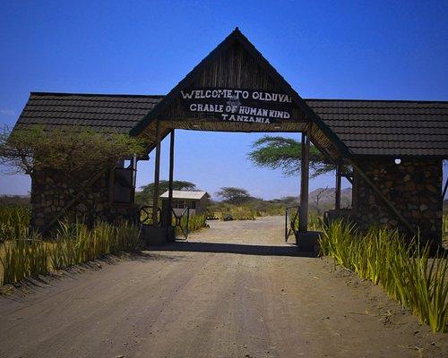 Entrance gate to Olduvai Gorge