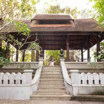 The yoga and open air Sala massage