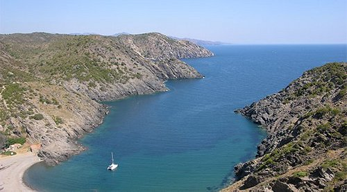 Cala Taballera on the Cap de Creus peninsula between Cadaques and Port de la Selva
