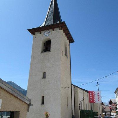 Eglise de St-Luc (clocher)