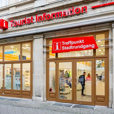 Tourist Information Magdeburg von Außen
