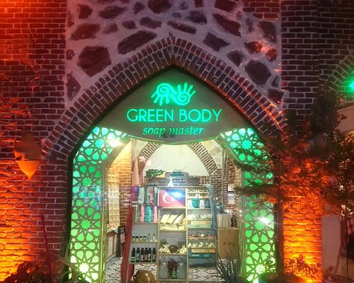 Outside view of Green Body Shop