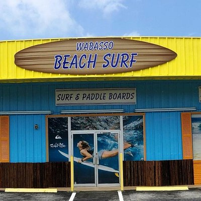 Welcome to Wabasso Beach Shop! We are a local family owned business. We supply Wabasso Beach, Vero Beach, Sebastian, Sebastian Inlet with watersport clothing and gear. Shop here for swim wear, snorkel gear, surfboards, paddle boards, sun protection, beach fashion, t-shirts, sea shells, souvenirs, and MORE! We rent boards and beach accessories!