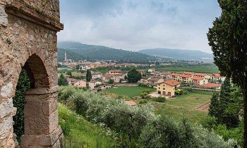 Blick auf Tregnago