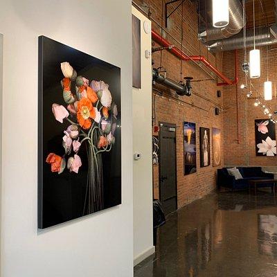 Beautiful contemporary art gallery in East Greenwich RI