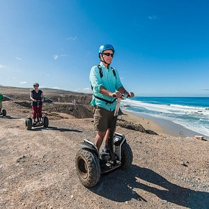 join the best places Fuerteventuras on a Segway! And discover the fun of hovering this vehicles!