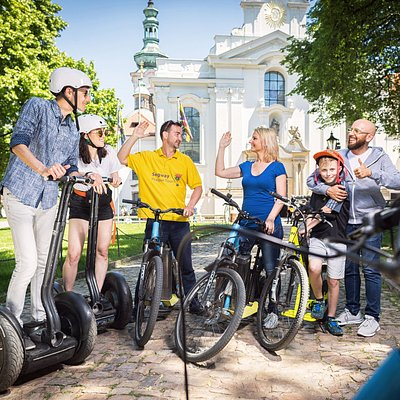 BEST Segway and E-Scooter tours in the city Oldest Prague company 100% local Czech !! Come and have fun with us:)