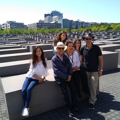 At the Holocaust Monument