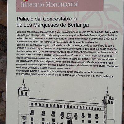 Pacio del Condestable o de los marqueses de Berlanga